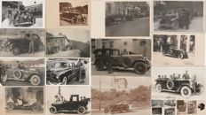 CARS - Set of 21 photo-postcards