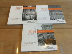 "The Netherlands - year sets 2012, 2013 and 2014, ""National Collection"" (3 sets)"