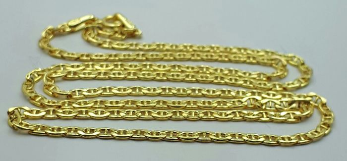 14 Ct Yellow Gold Unisex Chain, length 50cm, Total Weight 2.53g
