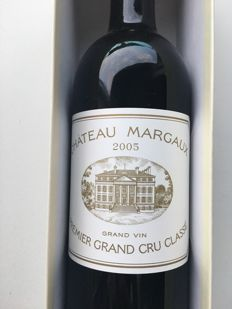 2005 Château Margaux - 1 bottle (75cl) in Duclot Collection box
