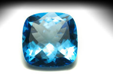 Swiss Blue Topaz – 15.31 ct