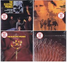 Electric Prunes - lot of 4 LP's: 1. Electric Prunes (1967) | 2. Underground (1967) | Release Of An Oath (1968), Mass in F Minor (1968)