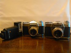 Lot Voigtlander (Bessamatic and Bessamatic Deluxe). Germany 1958-1962