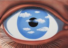 René Magritte (after) - Le Faux Miroir