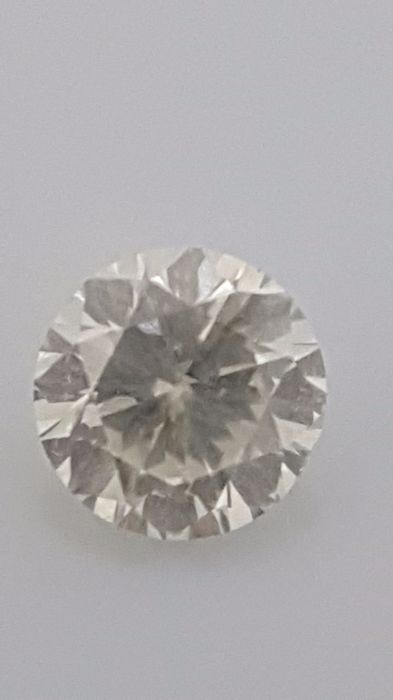 1.02 ct - Round Brilliant - White - G / SI2