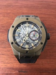Hublot - Big Bang Ferrari Magic Gold  - 401.MX.0123.VR - Herre - 2011-nå