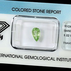Tsavorite – 1.02 ct – No Reserve Price