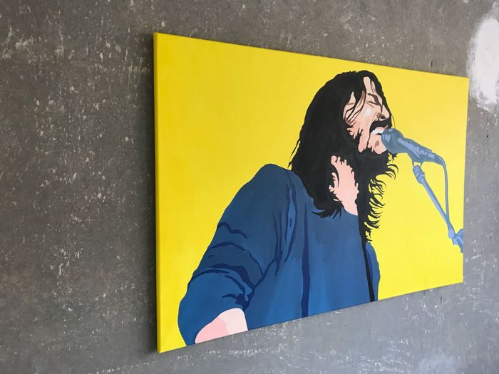 Catharina Massaut - Dave Grohl, Foo Fighters, Nirvana - Catawiki