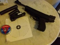 Webley air pistol