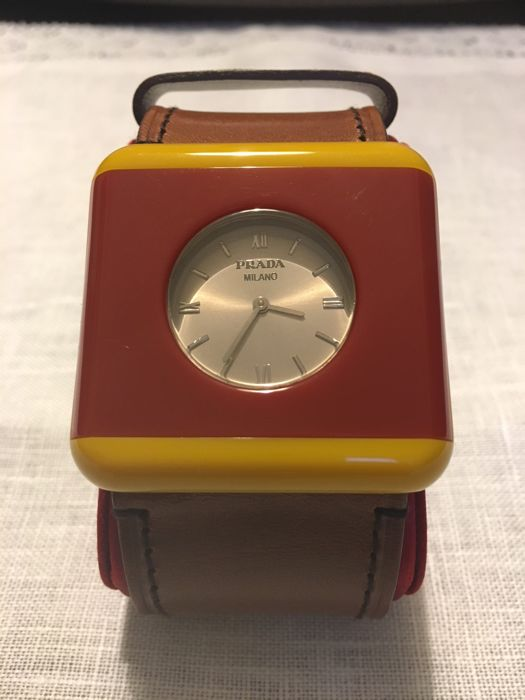 Prada - Prada watch bracelet - Leather strap band - Women - 2000-2010