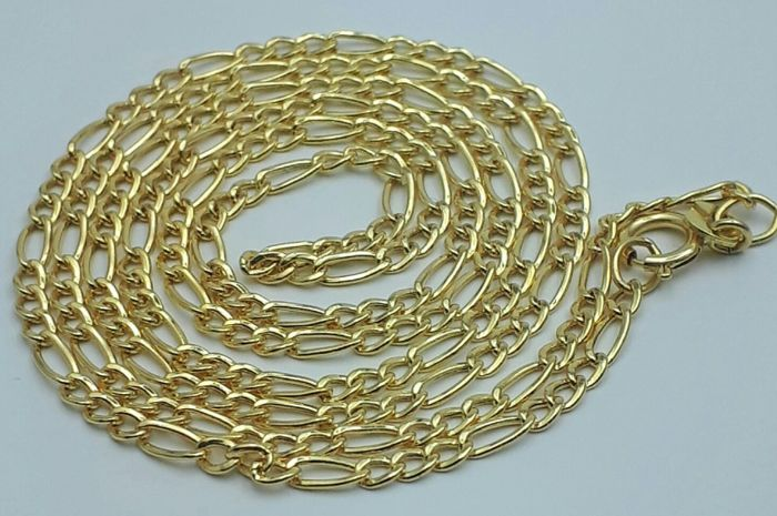 14 Ct Yellow Gold Unisex Chain, length 55cm, Total Weight 2.47g