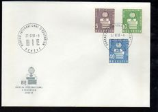Switzerland 1951/1976 Envelopes with stamps and first day of issue cancellation