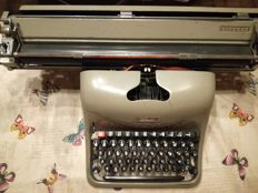 Olivetti typewriter made in Italy