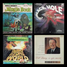 Disney, Walt - 22 LP albums - eg. Jungle Book + Pete's Dragon + The Rescuers + Christmas Carol (1967/1981)