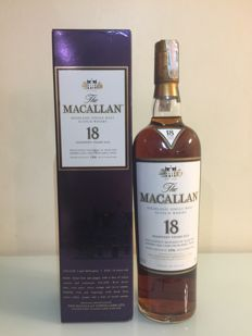 Macallan 1996 - original bottling - 18 years old