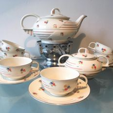 Victoria - Art Deco tea set