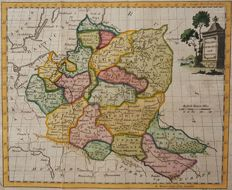 Poland, Lithuania; William Guthrie / Thomas Kitchin - Poland, Lithuania and Prussia - 1770