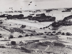 Unknown/Acme/USMC - Omaha Beach, Normandy Invasion, 1944