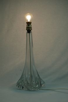 Sevres - crystal glass lamp base