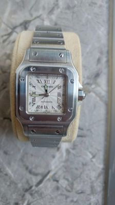 Cartier Santos Galbee  Ref. 2423 - Ladies watch -  Year 2001
