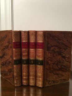Henry Fielding - Thé History of Tom Jones a Foundling - 4 volumes - 1780