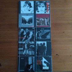 Lot of 60 original cd's, including 10 U2 cd's from the 80's