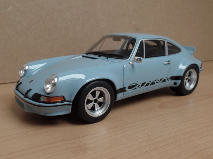 GT-Spirit - Scale 1/18 - Porsche 911 2.8 RSR - Blue - Limited Edition 504 pieces
