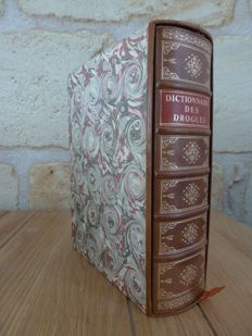 Nicolas Lemery - Dictionnaire universel des drogues simples. Reprint of the edition of 1733 -  no date