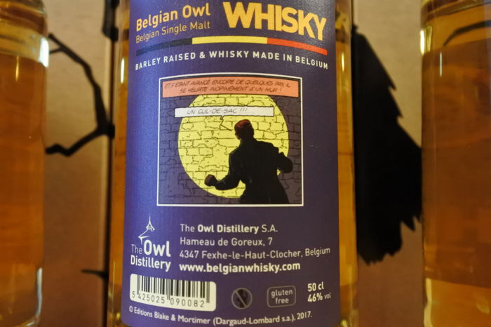 Special Edition Belgian Owl By Jove 4 Bottles In Original Show
