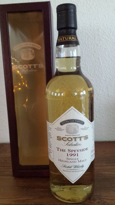 The Speyside 1991 - bottled 2004 - Scott's Selection