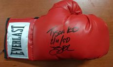 Buster Douglas Everlast original boxing glove signed by JSA certified COA , Tyson K.O. February 11, 1990