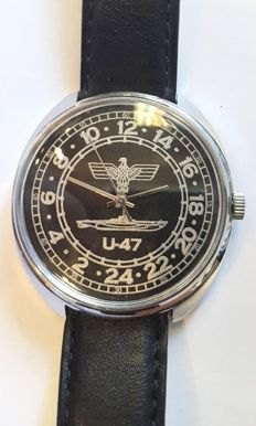 Raketa - U-47 24-hours watch - Men - 2004s