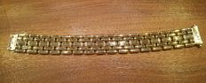 CODE: BGE 2001 – Double-sided bracelet in two-tone 18 kt gold. 44 g.