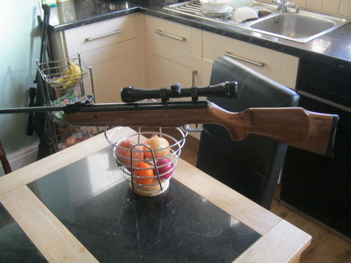 Brand New, BAM air rifle with rifle scope 4x32 - sniper rifle - Catawiki