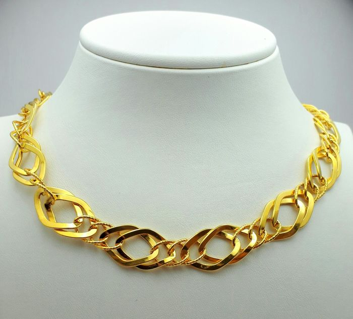 22 Ct Gold Link Necklace, New(Unused)