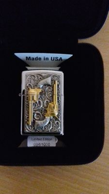 7 beautiful zippo lighters - new - and unused