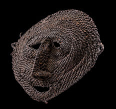 Ancient dance mask of the Boiken, Prince Alexander Mountains, East Sepik Province, Papua New Guinea