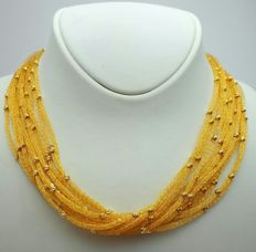 22 Ct Gold Mesh Wire Necklace,  New( Unused) ***INVEST IN BULLION GOLD JEWELLERY***