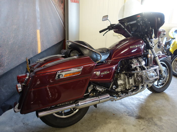 honda goldwing 1200 bagger 1984 catawiki