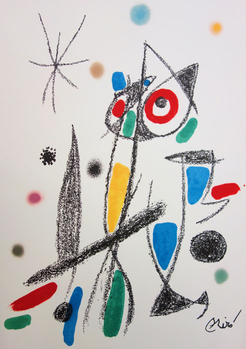 Joan Miro  - Maravillas, le chat