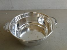 Silver plated Soufflè bowl by Elkington&Co. of Birmingham