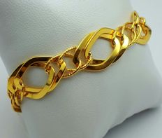 22 Ct Gold Link  Bracelet, New (Unused) ***INVEST IN BULLION GOLD JEWELRY ***