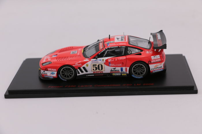 red line scale 1 43 ferrari f550 50 le mans 2006 limited edition catawiki. Black Bedroom Furniture Sets. Home Design Ideas