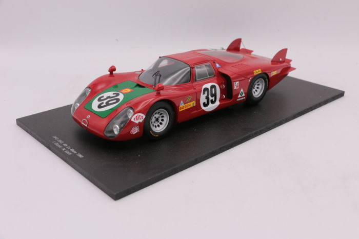 spark scale 1 18 alfa tipo 33 2 39 le mans 1968 catawiki. Black Bedroom Furniture Sets. Home Design Ideas