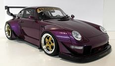 GT spirit - scale 1/18 - Porsche 911 (993) RCE - purple metallic