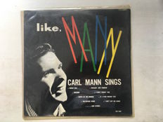 Original and very rare early Rock & Roll / Rockabilly LP - Carl Mann, Like Mann