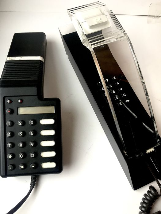 two rare german telephones stratos artline berlin ktel 385 germany 1980 90s catawiki. Black Bedroom Furniture Sets. Home Design Ideas