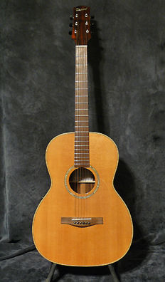 Custom Electroacoustic 000 Folk Guitar - Dupont - France - May 2003