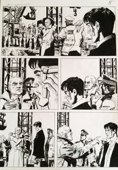 Di Gennaro, Aldo - original plate for Dylan Dog