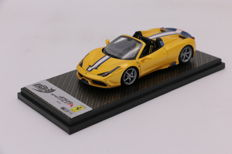BBR - Scale1/43 - Ferrari 458 Speciale Spider - Limited Edition 250 - Yellow